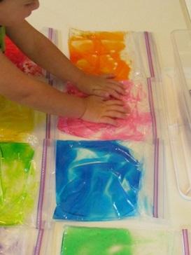 sensory bags 8